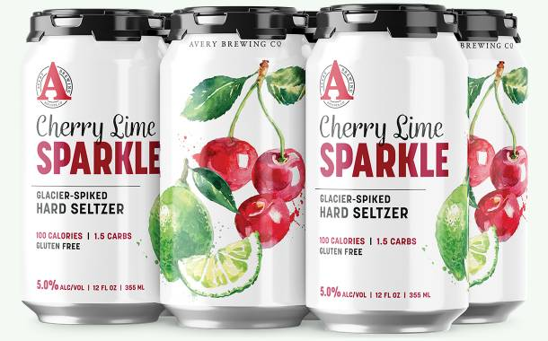 Avery Brewing debuts Sparkle range of hard seltzers in US