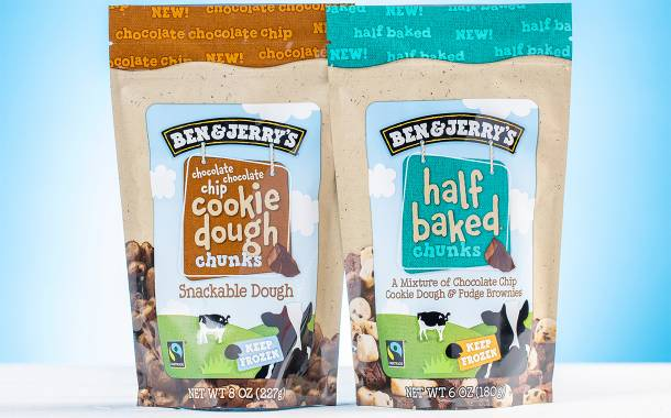 Ben & Jerry's debuts additional Cookie Dough Chunks flavours