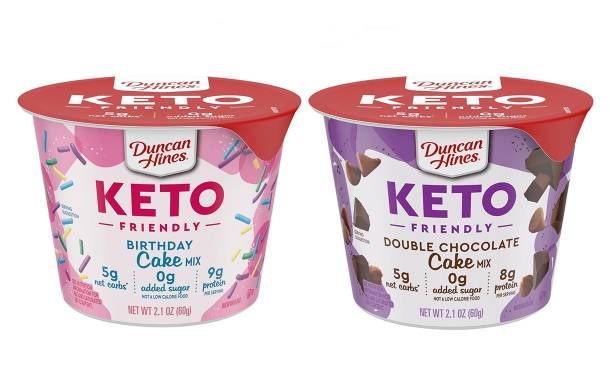 Duncan Hines launches single-serve cake cups for keto diets