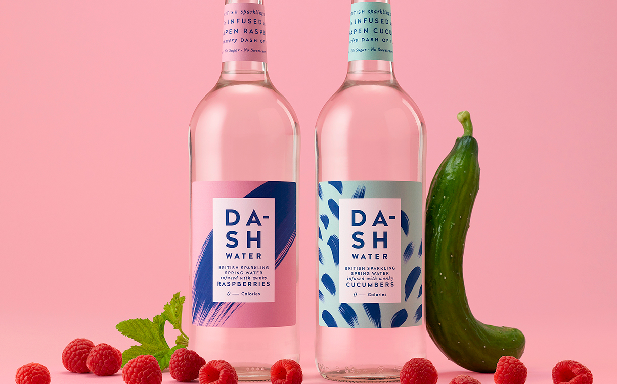 Dash Water introduces sparkling water in new glass bottle format