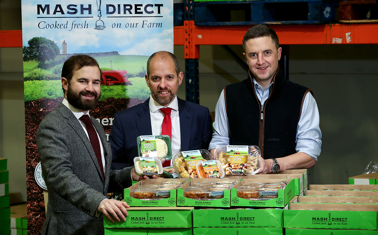 Mash Direct to boost production capacity after securing funding