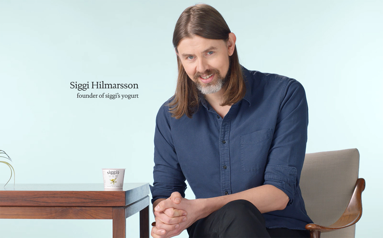 Siggi's unveils ad campaign featuring brand founder