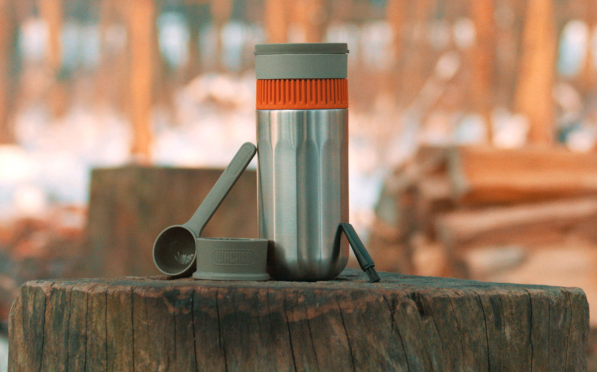 Wacaco unveils portable filter coffee maker called the Pipamoka