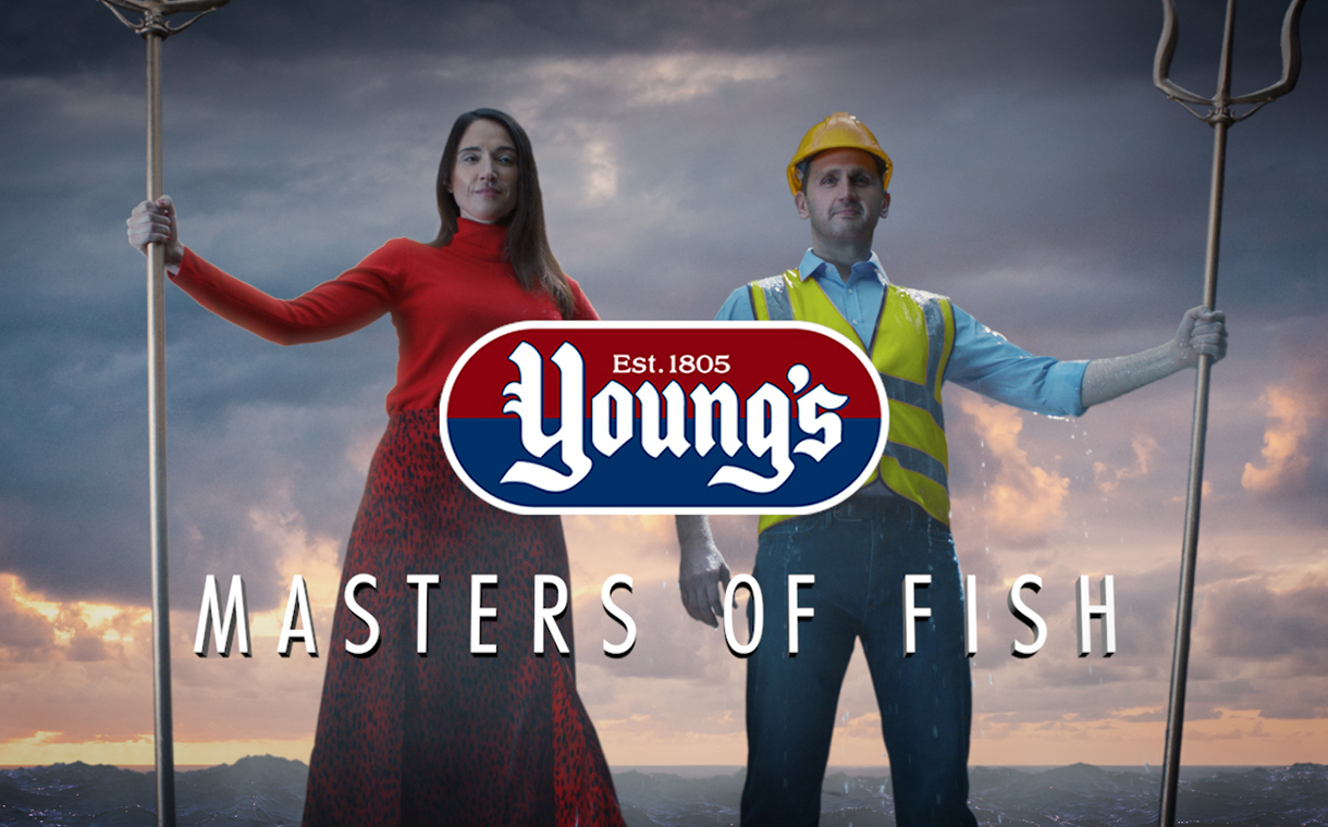 Young's Seafood unveils Masters of Fish advertising campaign