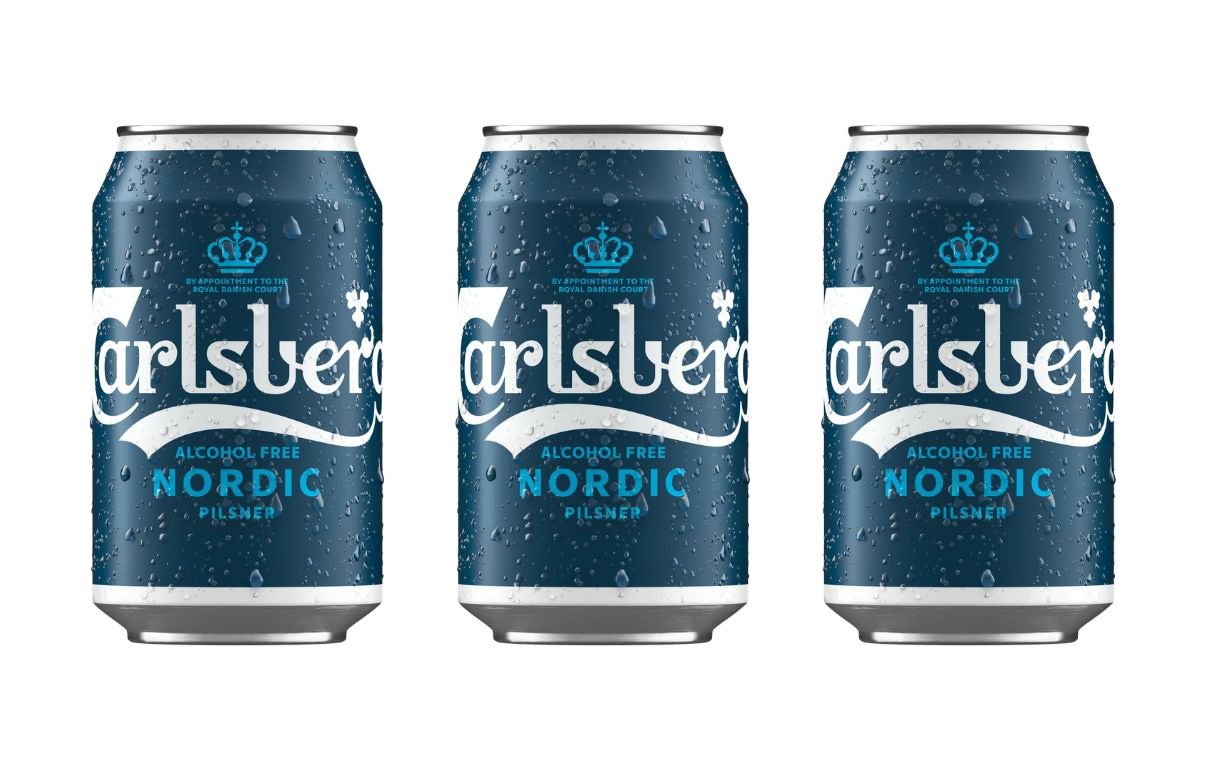 Carlsberg launches alcohol-free pilsner brand Nordic in UK