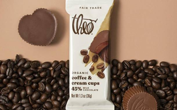 Theo Chocolate debuts popular flavour duos in its chocolate cups