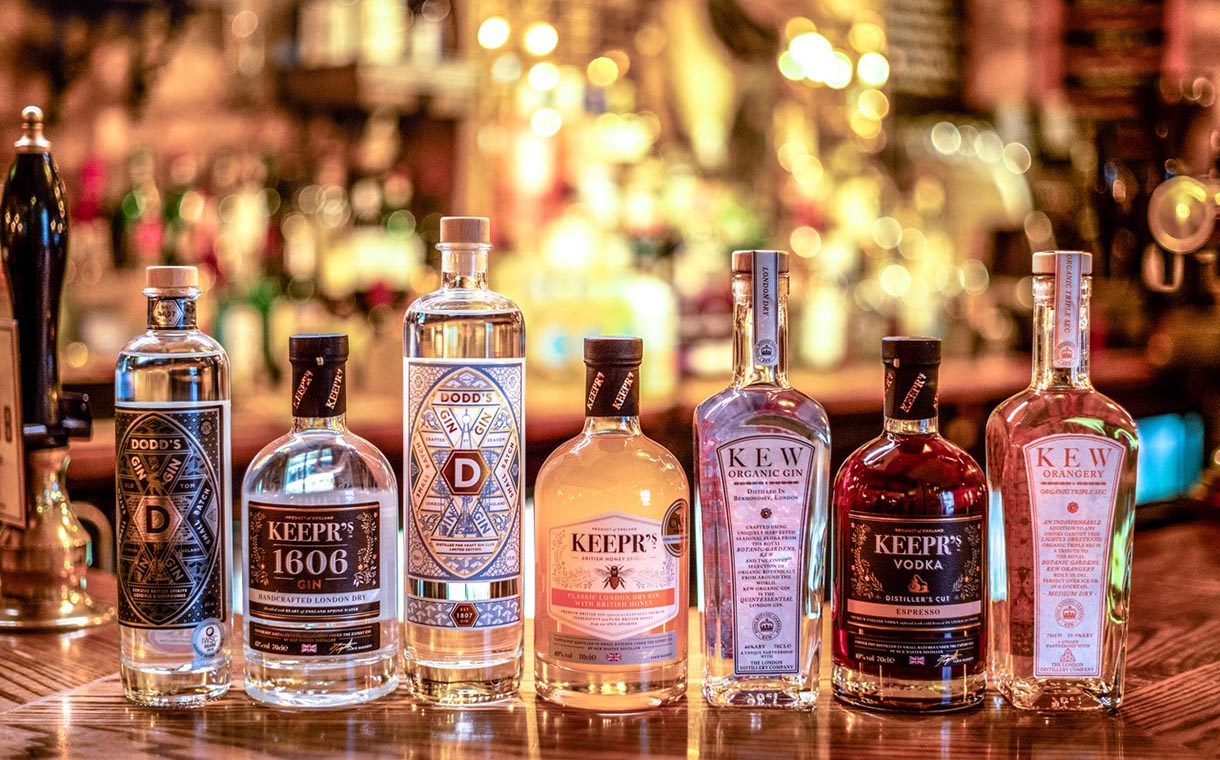 Infused spirits brand acquires The London Distillery Company