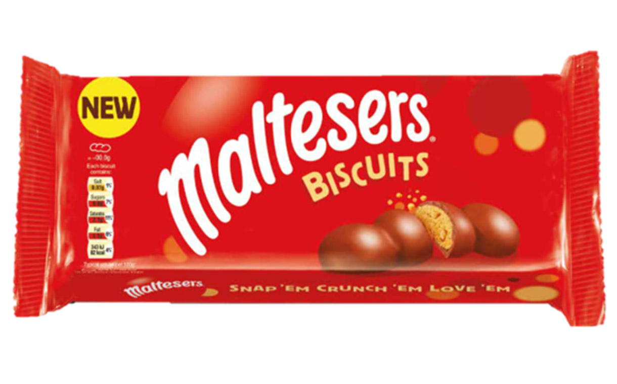 Maltesers enters biscuit aisle with Burton's Biscuit Company