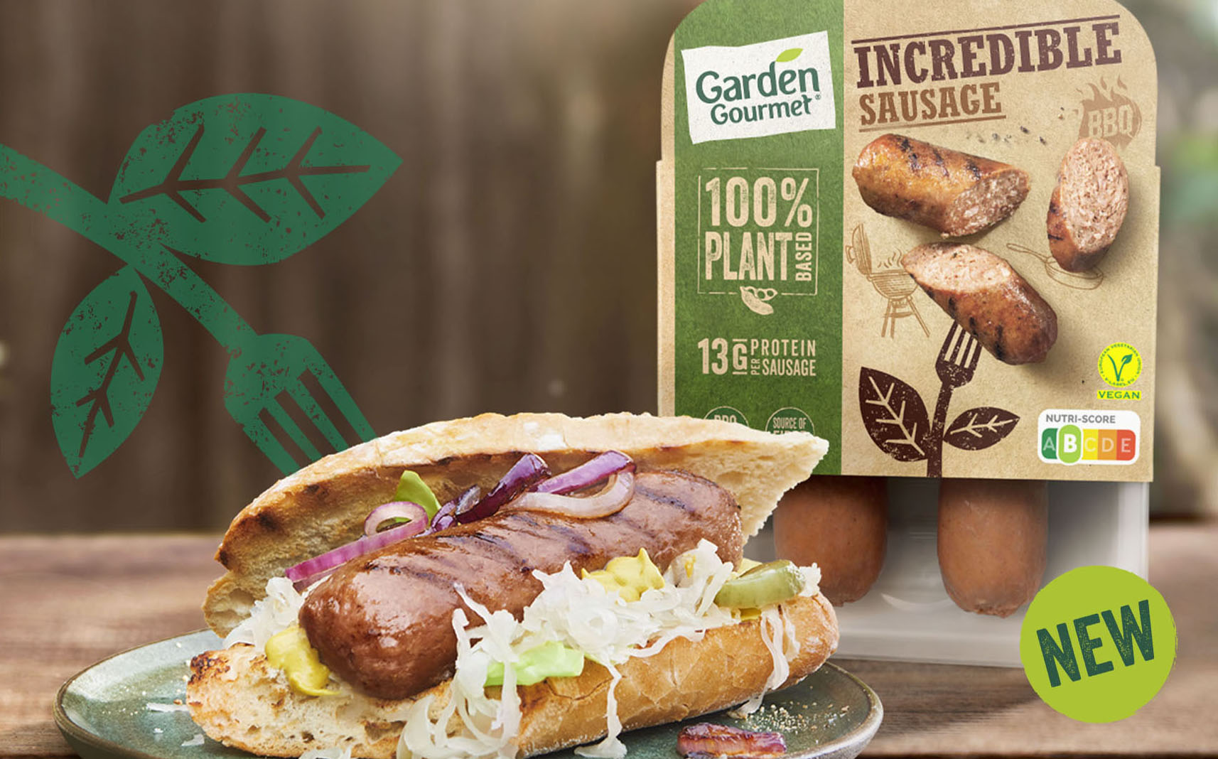 Nestlé brands to launch plant-based sausages in Europe and US