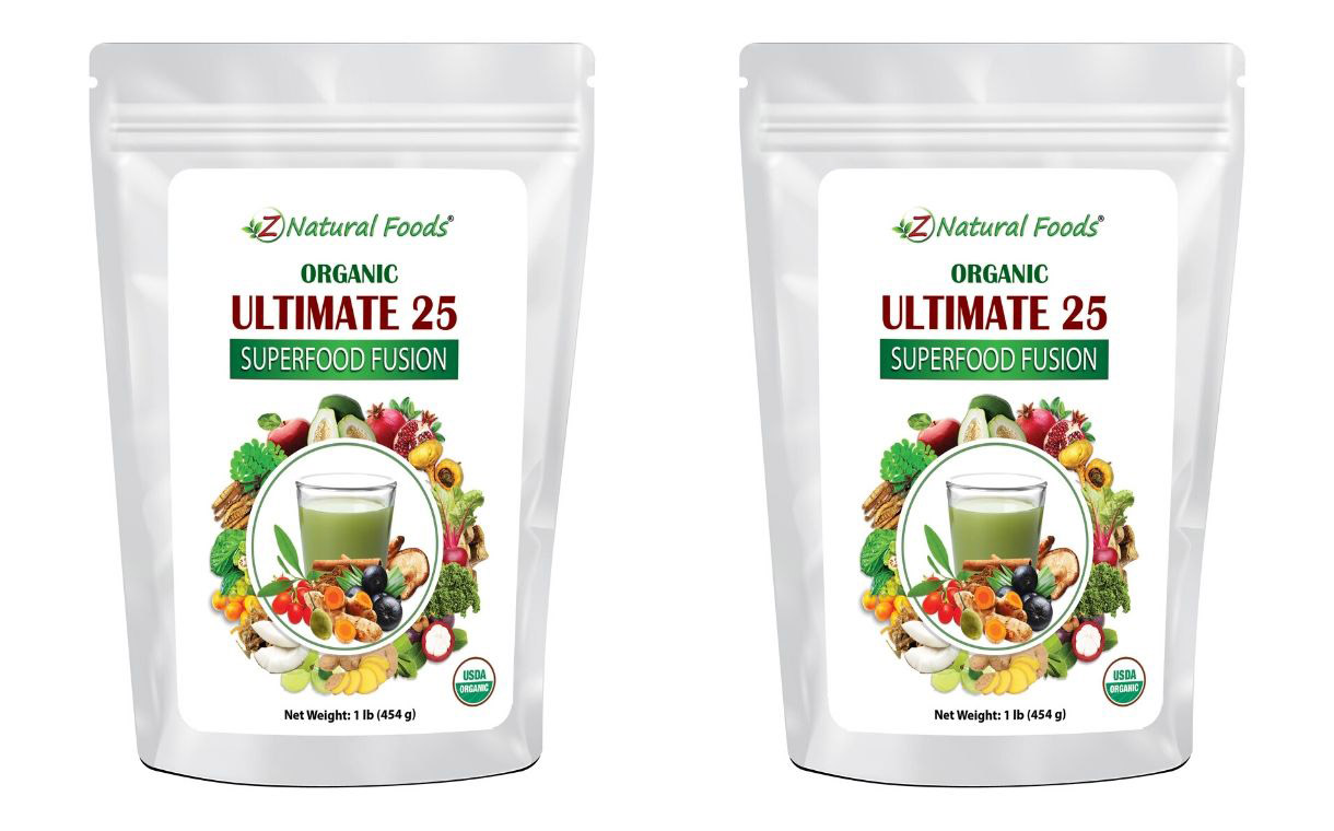 Z Natural Foods launches 25 superfood blend powder