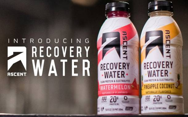 Ascent pairs electrolytes with protein for Recovery Water line
