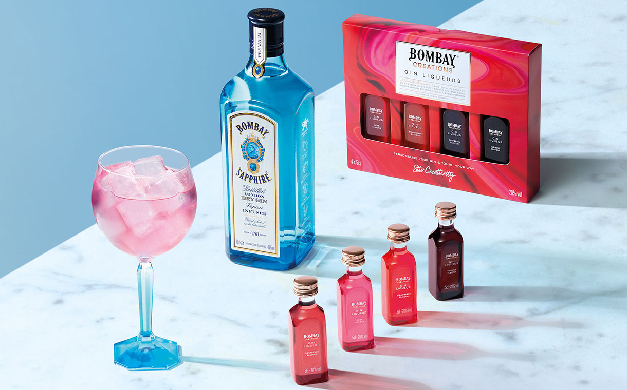 Bacardi introduces Bombay Creations Gin Liqueurs in the UK