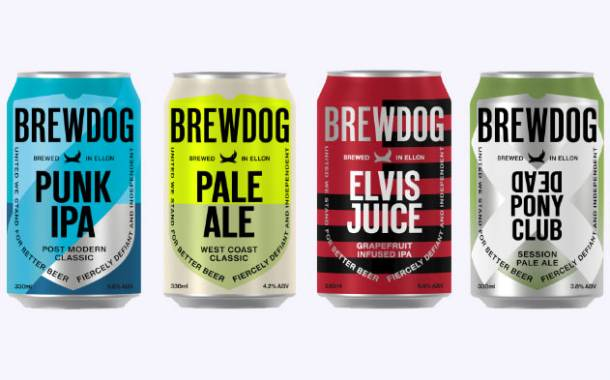 BrewDog updates visual identity, launches sustainability initiatives