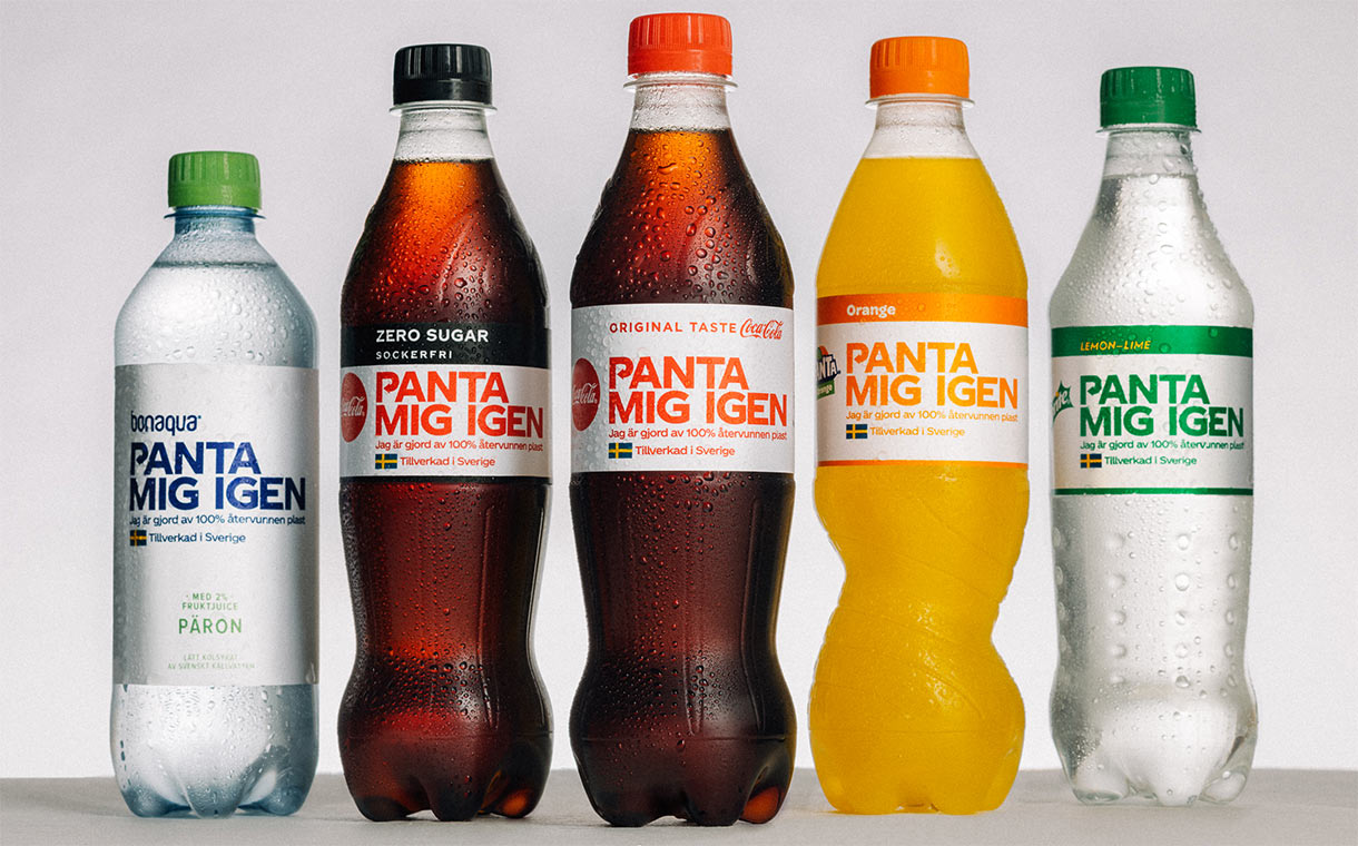 Coca-Cola Sweden adds new labels to encourage recycling