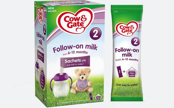 Danone introduces sachet packs for Aptamil and Cow & Gate