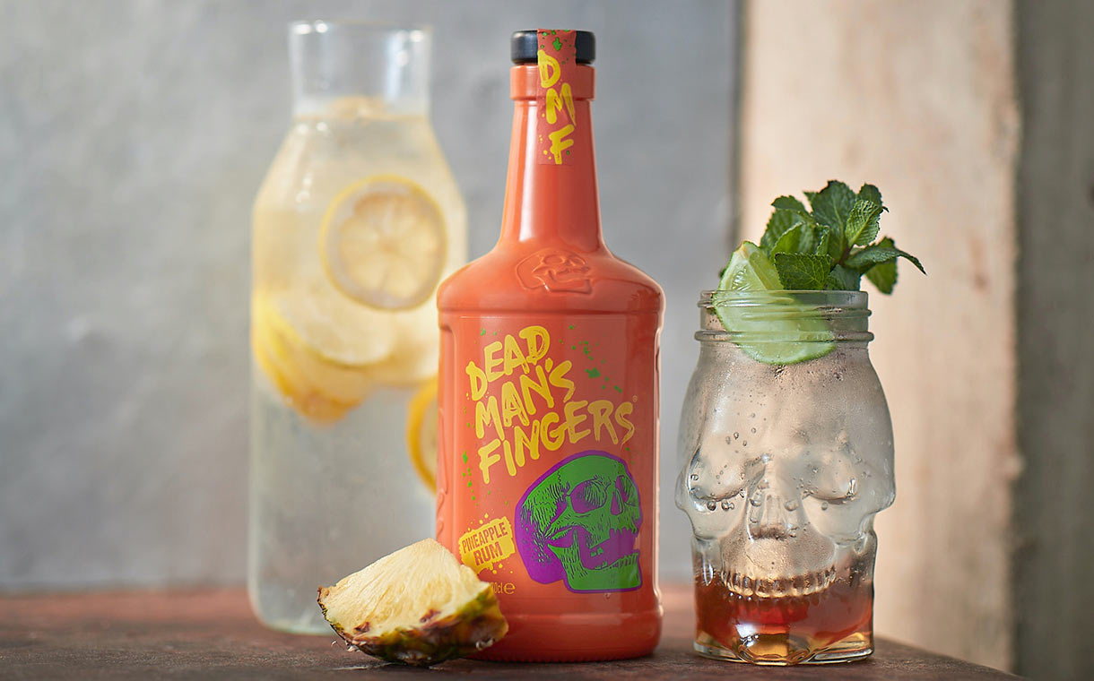 Spiced rum brand Dead Man's Fingers debuts pineapple flavour
