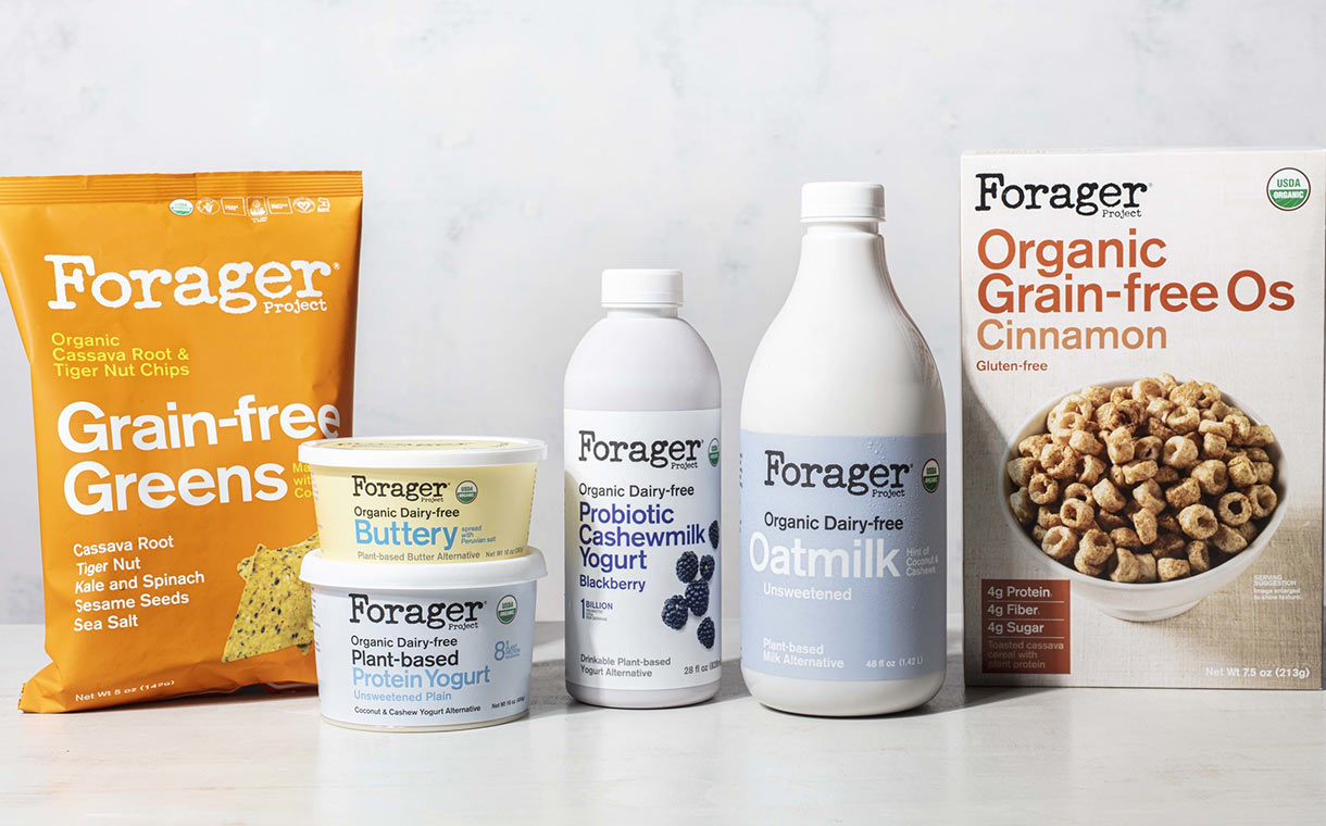 Danone-backed Forager Project debuts new plant-based products
