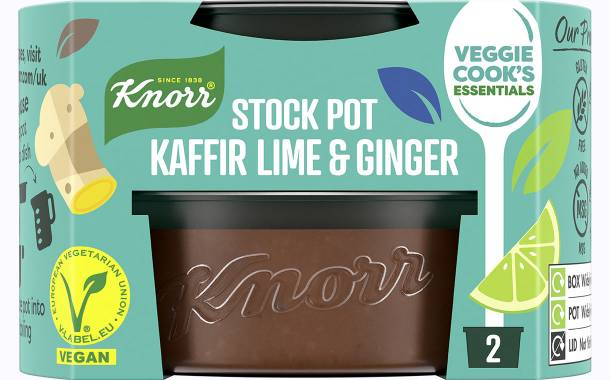 Unilever champions plant-based cooking with vegan Knorr stocks