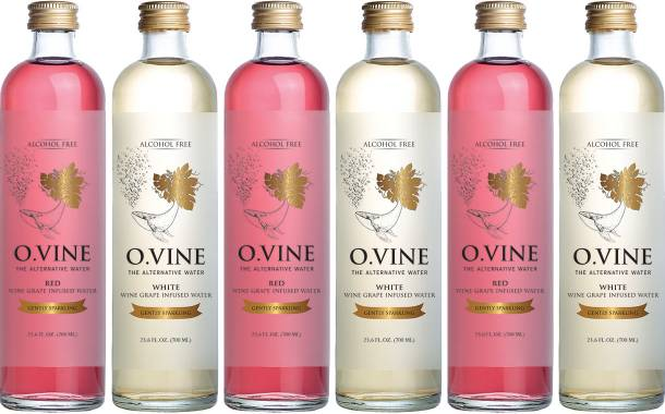 Wine Water to launch O.Vine infused waters in 700ml bottles
