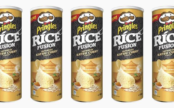 Pringles releases katsu curry-flavoured rice fusions product