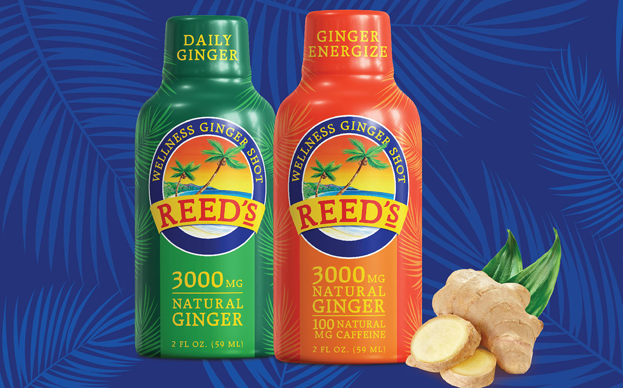 Reed's introduces shelf-stable Wellness Ginger Shots range