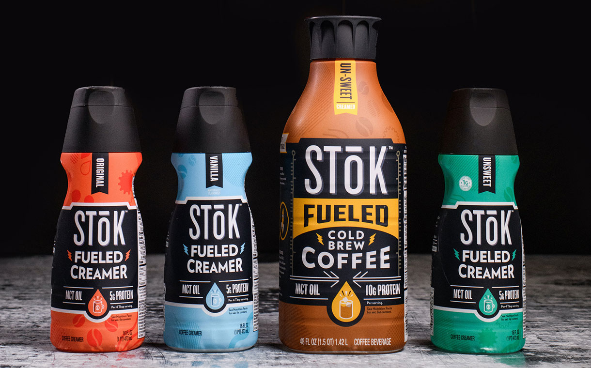 Stok releases four functional coffee products under new 'Fueled' line