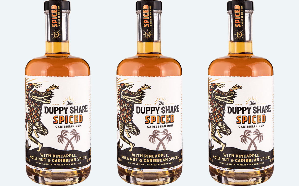 The Duppy Share debuts spiced rum flavoured with kola nut