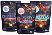 The Good Bean launches line of Chocolate Covered Chickpeas