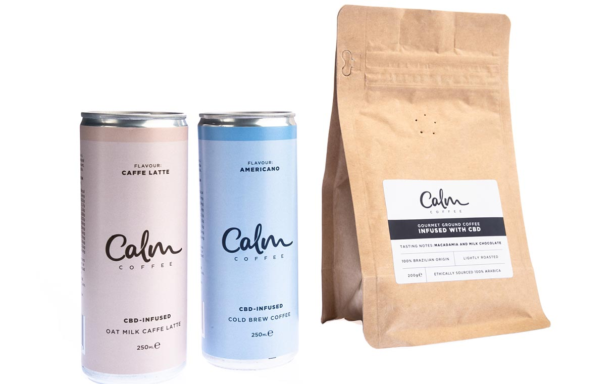 Calm Drinks launches CBD-infused cold brew coffee