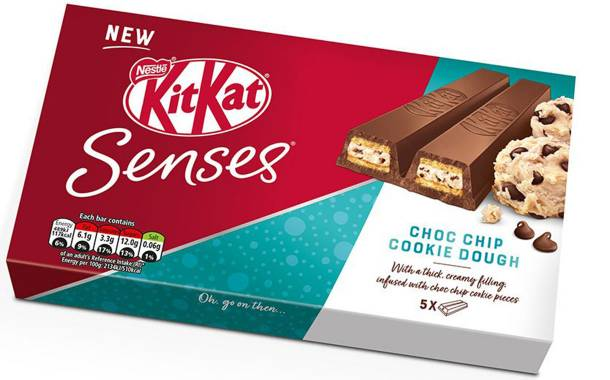 Nestlé invests £800,000 in two-finger KitKat Senses biscuit