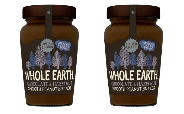 Whole Earth introduces chocolate and hazelnut peanut butter