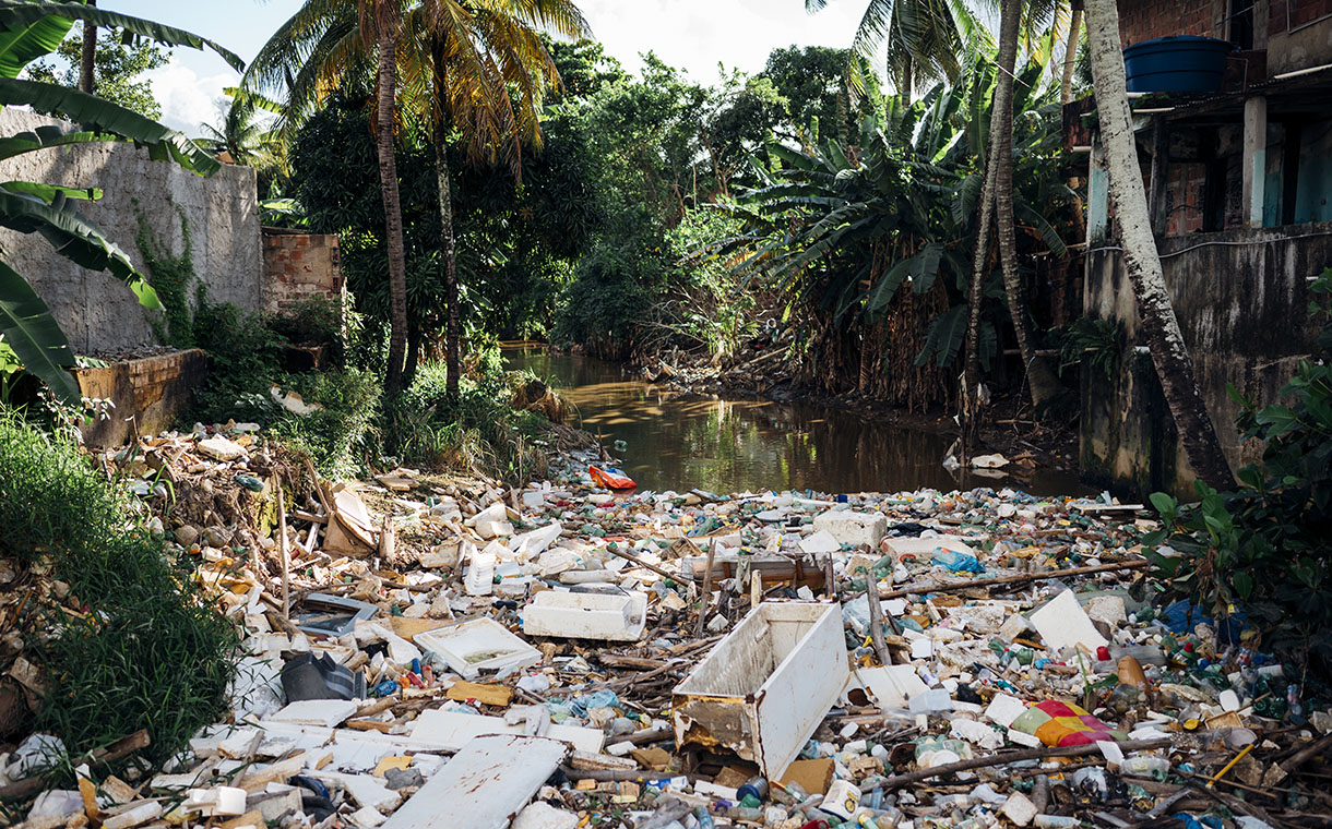 Report allegedly reveals 'massive plastic pollution footprint' of four companies