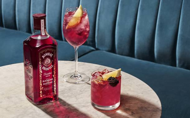 Bombay Sapphire debuts 100% natural berry-infused gin