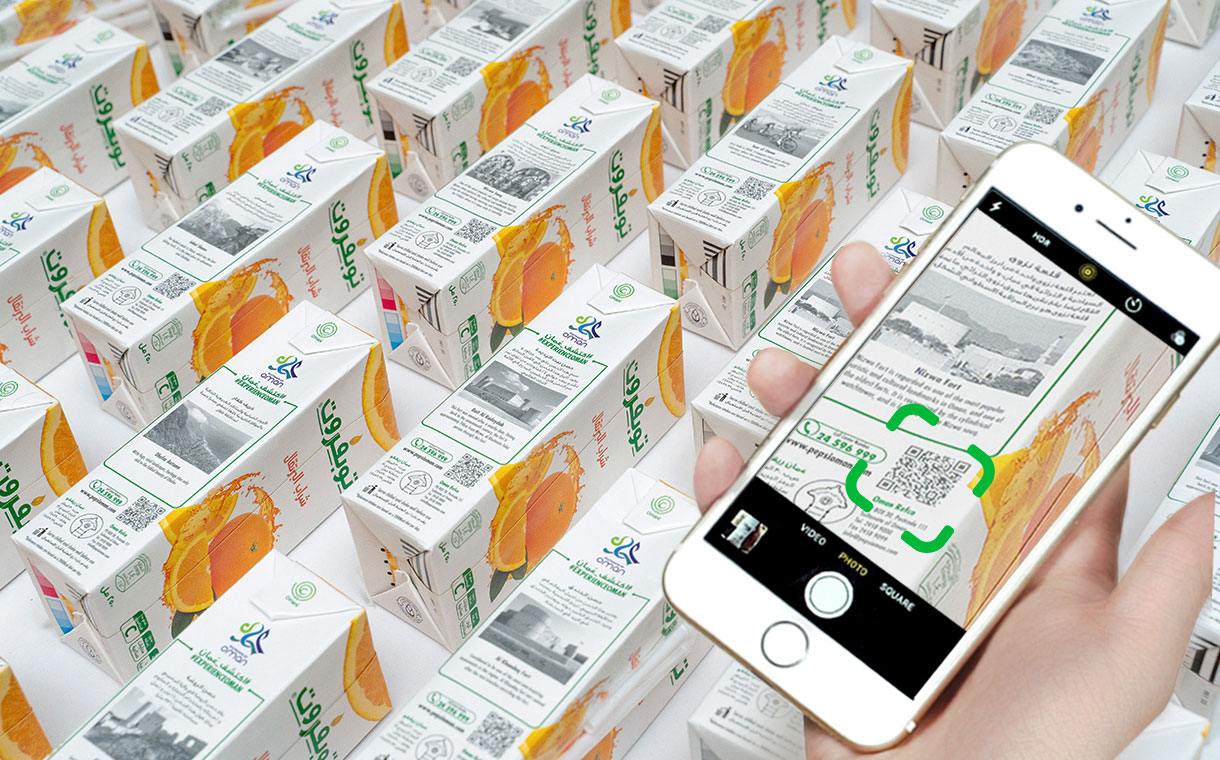 TopFruit Juice brings innovative QR code campaign to its consumers
