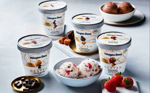 Häagen-Dazs launches Heaven low-calorie ice cream range