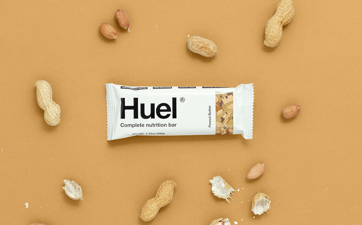 Huel adds peanut butter flavour to high-protein snack bar range