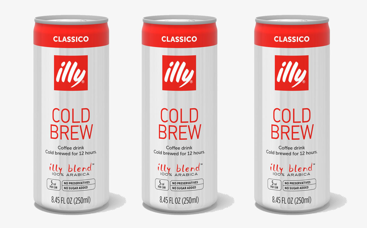 Illycaffè to launch its first RTD, cold brew coffee product