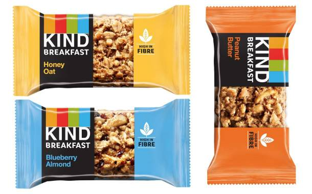 Kind expands into breakfast category with three new bars