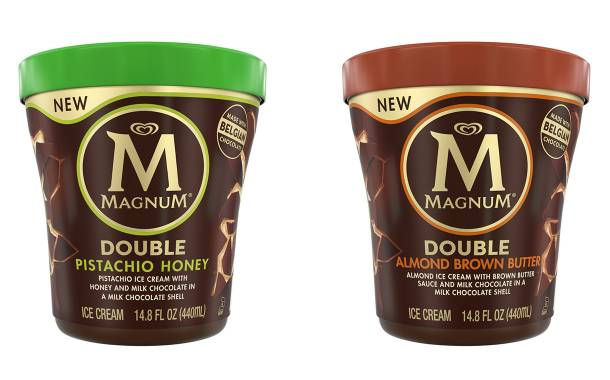 Magnum introduces non-dairy bar and two new tub flavours