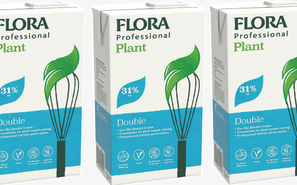 Upfield's Flora brand launches plant-based whipping cream