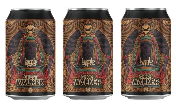 BrewDog collaborates with band to launch Ghost Walker beer