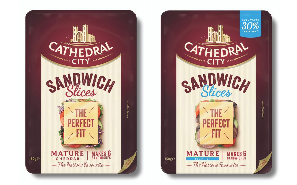 Saputo transitions to 'Sandwich Slices' for Cathedral City range