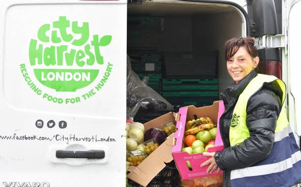 UK charity City Harvest receives record number of food donations