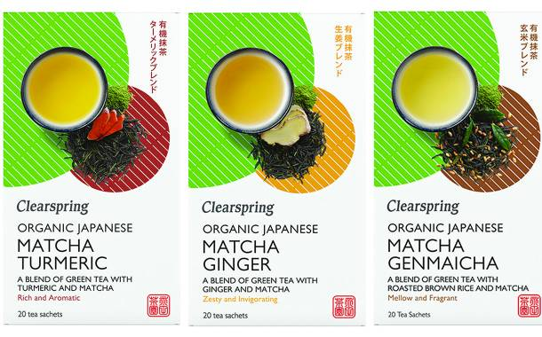Clearspring expands Japanese matcha tea range