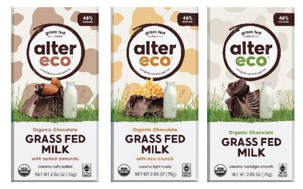Alter Eco unveils Grass Fed Milk Chocolate range in US