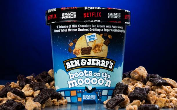 Ben & Jerry's launches limited flavour Boots on the Moooo'n