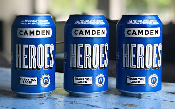 Camden Town Brewery rebrands beer in support of NHS
