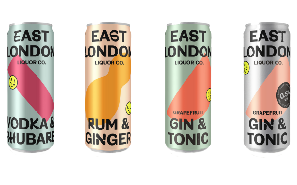 East London Liquor Co launches new range of RTDs