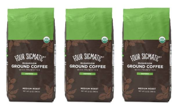 Four Sigmatic unveils Mushroom Ground Coffee with Probiotics
