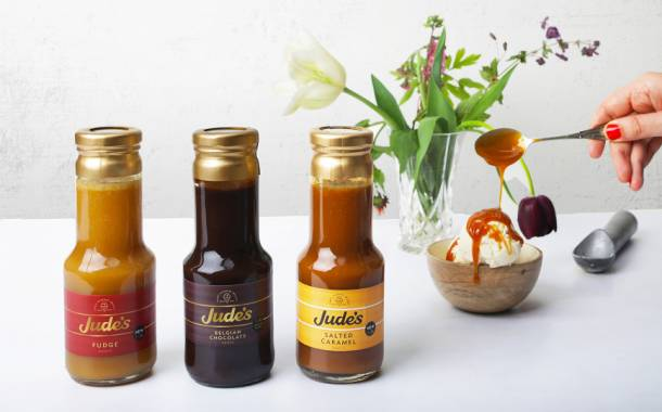 Jude's releases new line of 'indulgent' topping sauces in UK